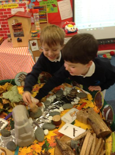 we have been exploring the sory of The Gruffalo