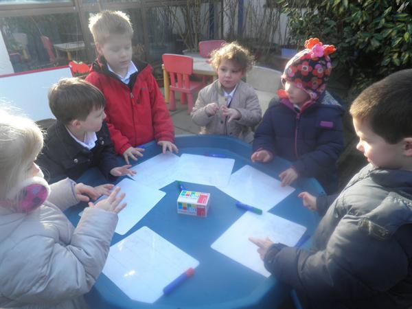 Practising our maths stories