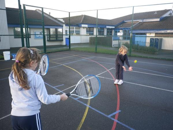 Free tennis coaching January '12