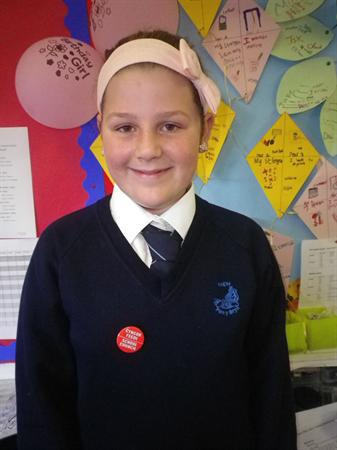 Meet our School Councillors-Shannon, Vice Chair