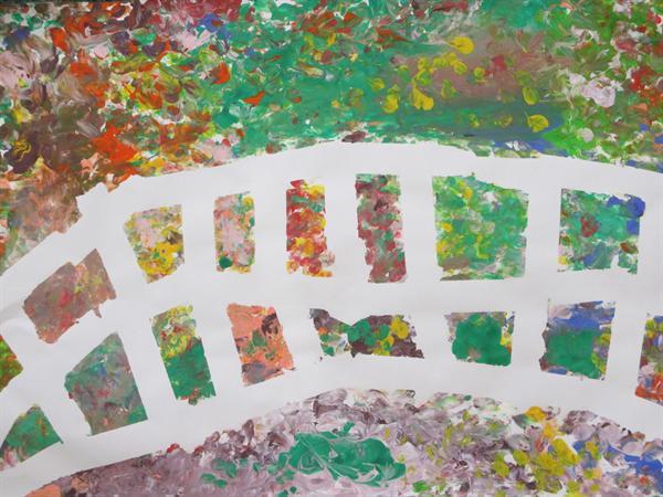 Bridge inspired by Monet