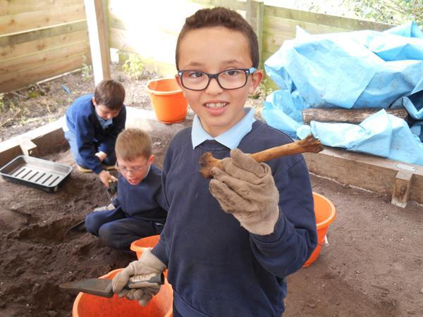 We are wonderful archaeologists!