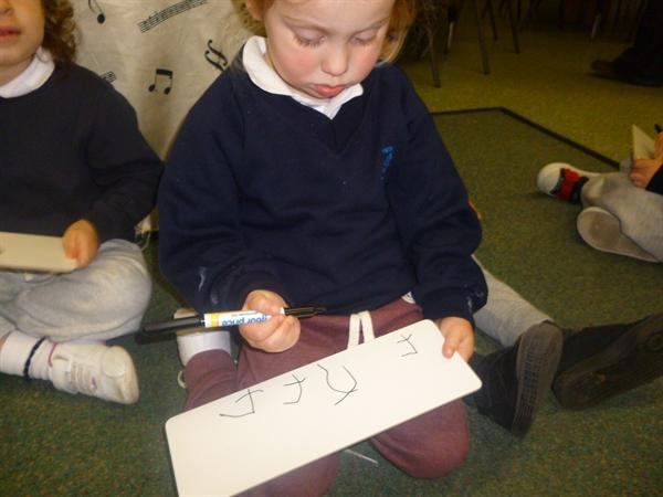 Concentrating!