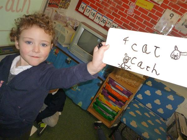 Writing words (Cat/'cath')