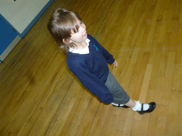 Walking with tiny steps!