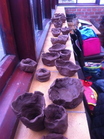 Our wonderful coil pots!