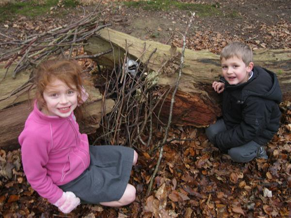 Look at our shelter!