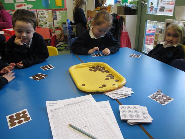 Counting our pennies!