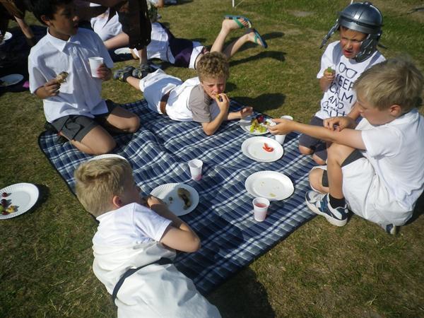 Roman Day - a fun feast