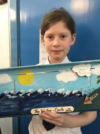 Water Cycle creations