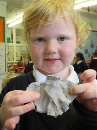 Clay nocturnal animals