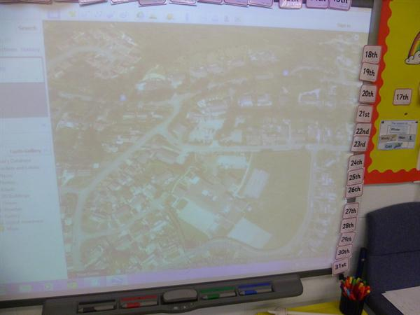 K&U- looking at maps of our locality.