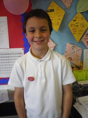 Meet our School Councillors- Adam, Chairperson
