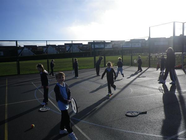 Tennis coaching January 2012