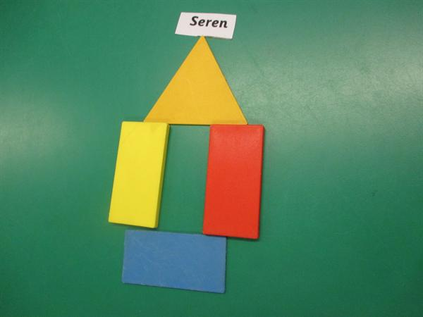Using 2d shapes to make pictures