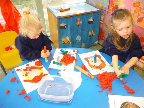 Physical Development - play dough...