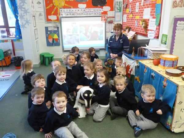 The children learnt lots about what vets do.