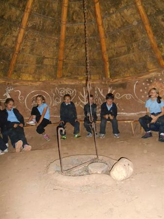 An amazing roundhouse!