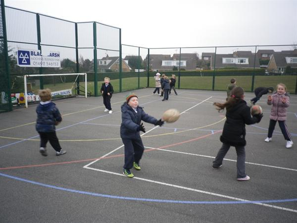Rugby coaching from the WRU