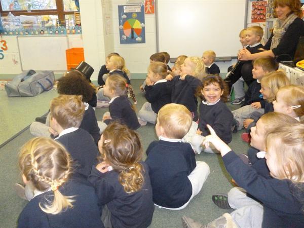 The children listened brilliantly!