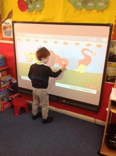 ICT ordering numbers on the Chinese dragon