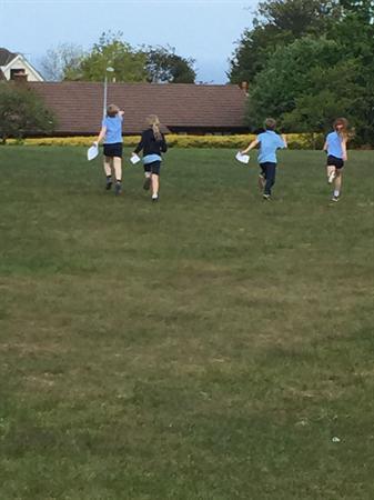 Orienteering around the School