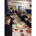 Making pizzas with Dai Chef