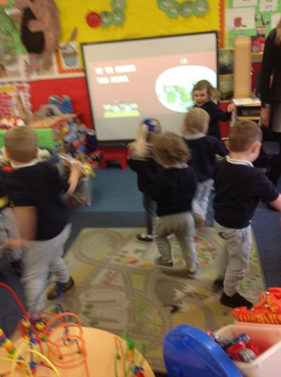 dancing like Chinese dragons