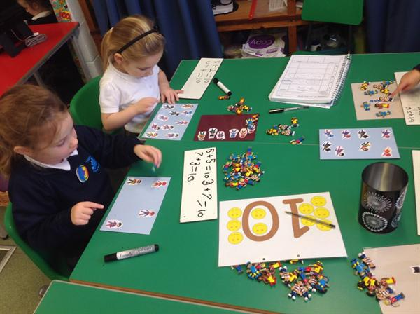 Superhero counting to 10