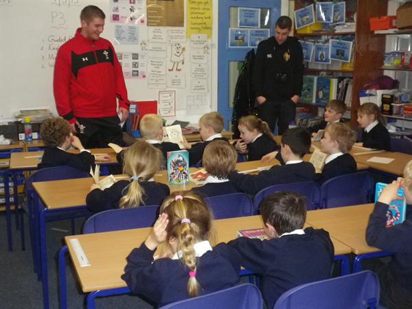 World Book Day, Rugby men who read