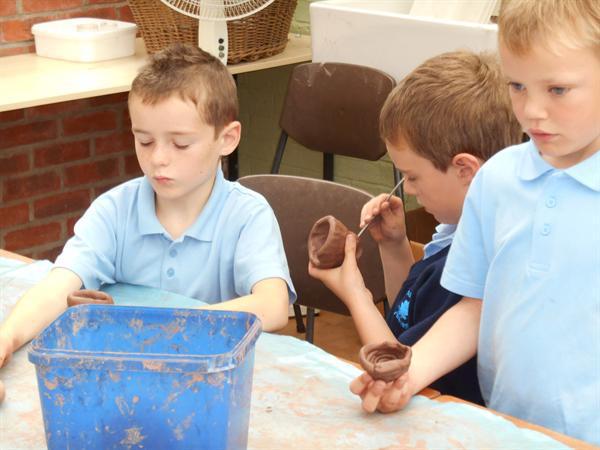 Making coil pots