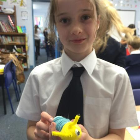 Creating our invertebrates