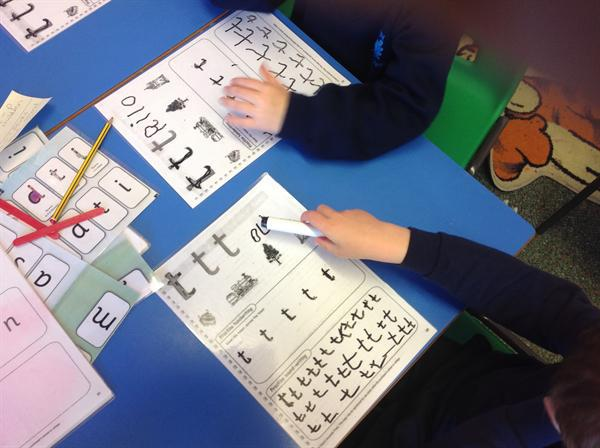 Writing our sounds