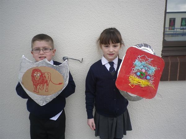 Our wonderful shields