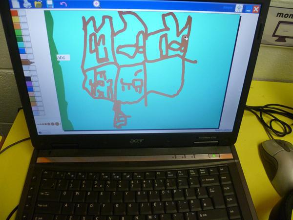 ICT- drawing castles