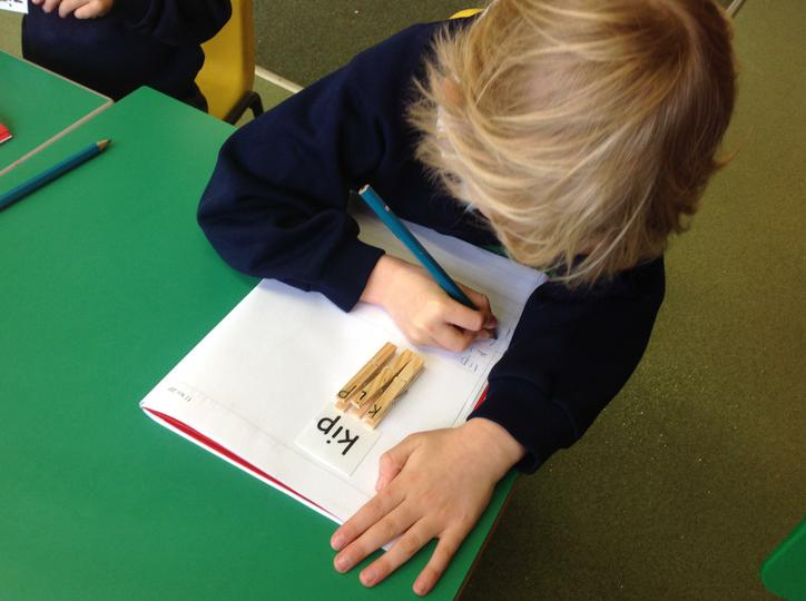 Building three letter words