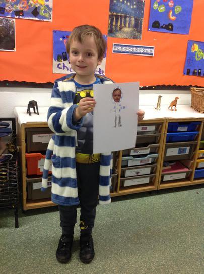 Designing the Pj's we wore to school