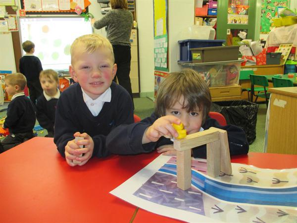 Working together to build bridges.