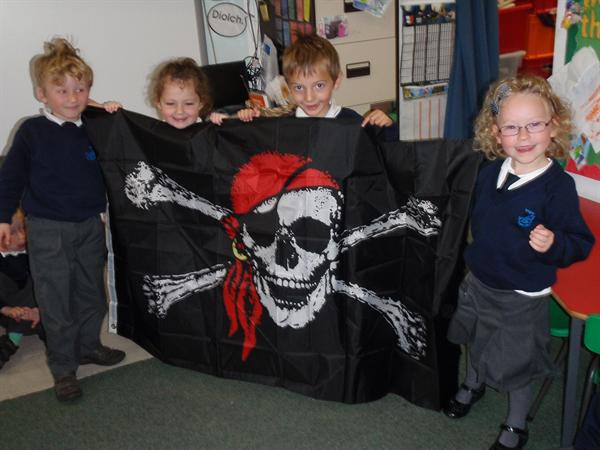'How did it get on the pirate ship?'