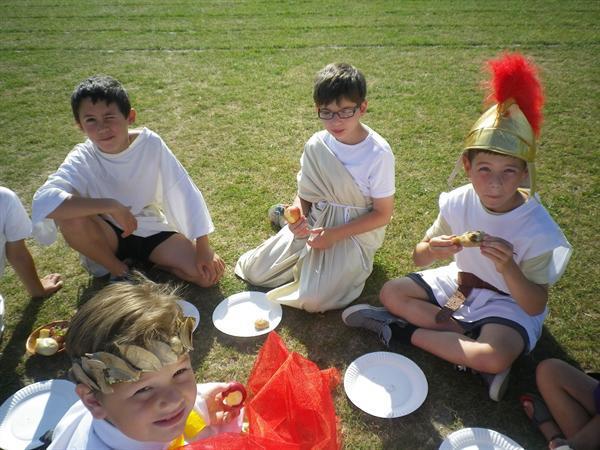 Roman Day, yummy!