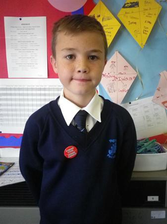 Meet our School Councillors-Theo 4RR