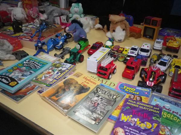 We had lots of wonderful donations