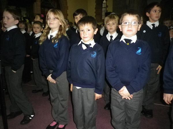 We have learnt lots of fantastic songs and hymns.