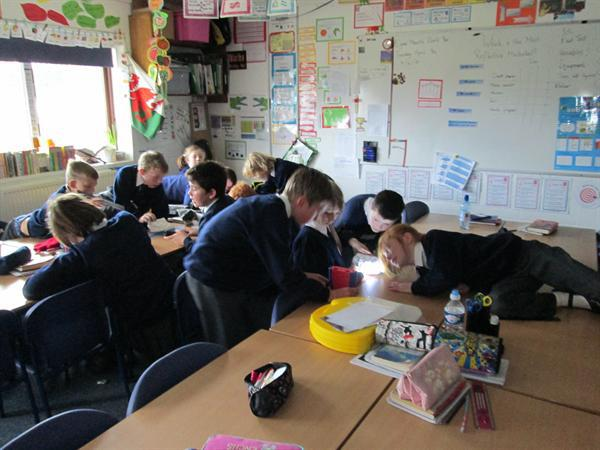 Engrossed in our Science lessons!