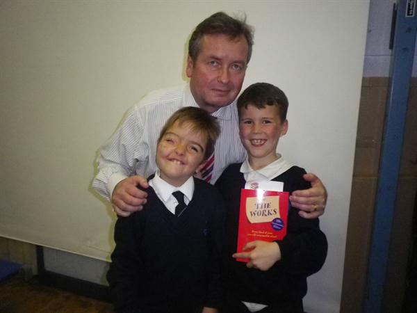 Our Year 3 Poetry Stars Benedict and Luke