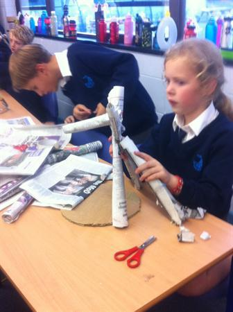 Building shelters - lots of problem solving!