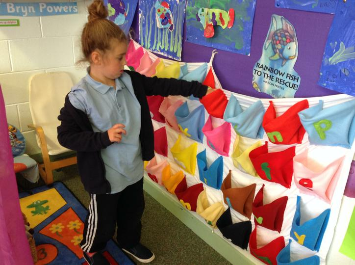 Sorting objects into correct pockets
