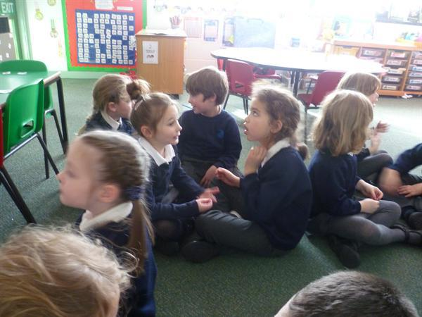 Learning Partners- talking and sharing