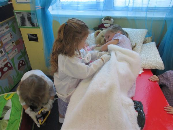 Cleifion y Meithrin / Nursery patients