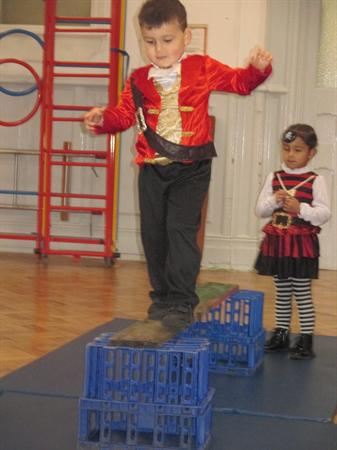 Mor ladron y Feithrin / Our Nursery pirates